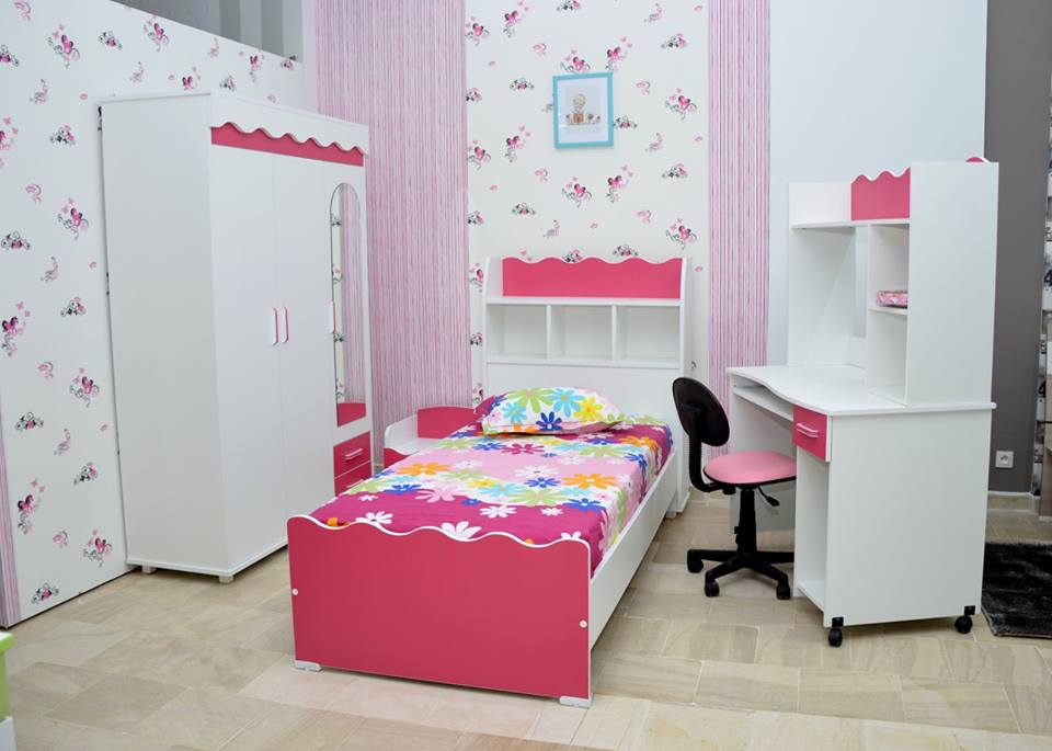 chambre d 39 enfant alice meubles et d coration tunisie. Black Bedroom Furniture Sets. Home Design Ideas