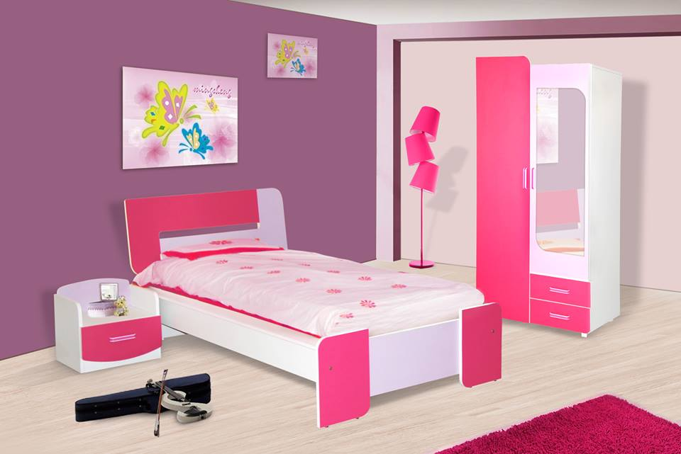 chambre d 39 enfant nour meubles et d coration tunisie. Black Bedroom Furniture Sets. Home Design Ideas