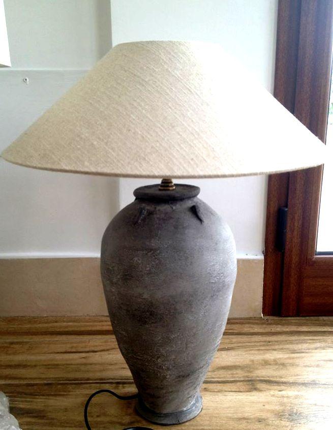 lampe poser en b ton light living meubles et d coration tunisie. Black Bedroom Furniture Sets. Home Design Ideas