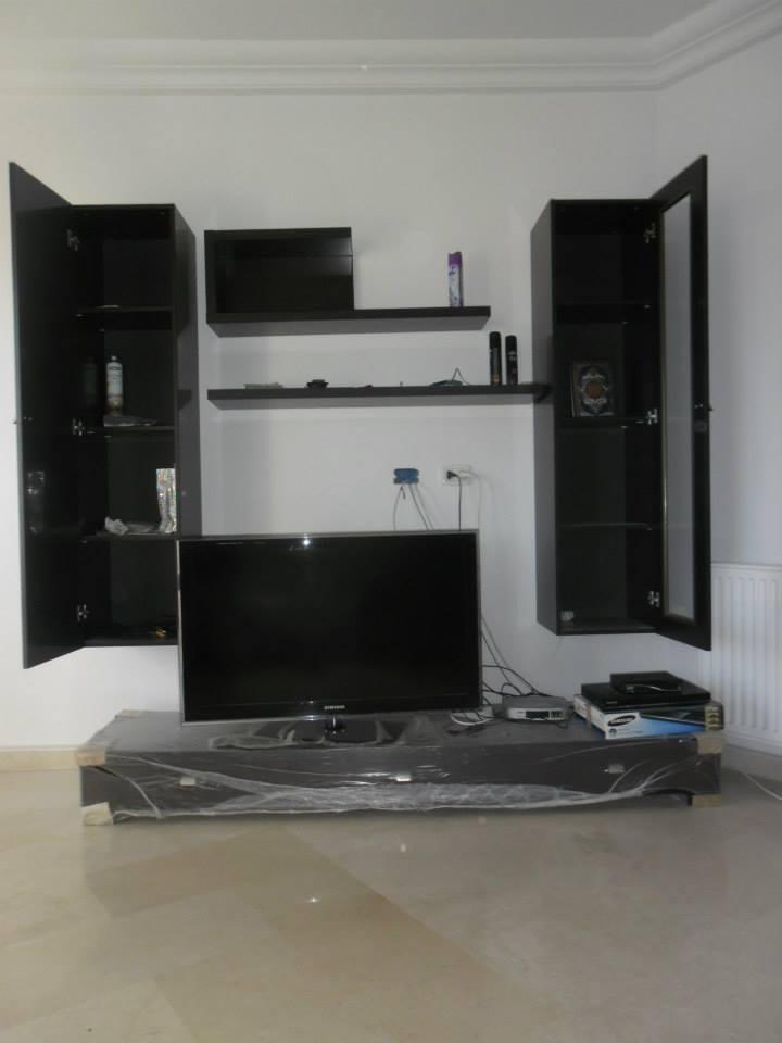 Living meubles et d coration tunisie for Meuble tv zebra