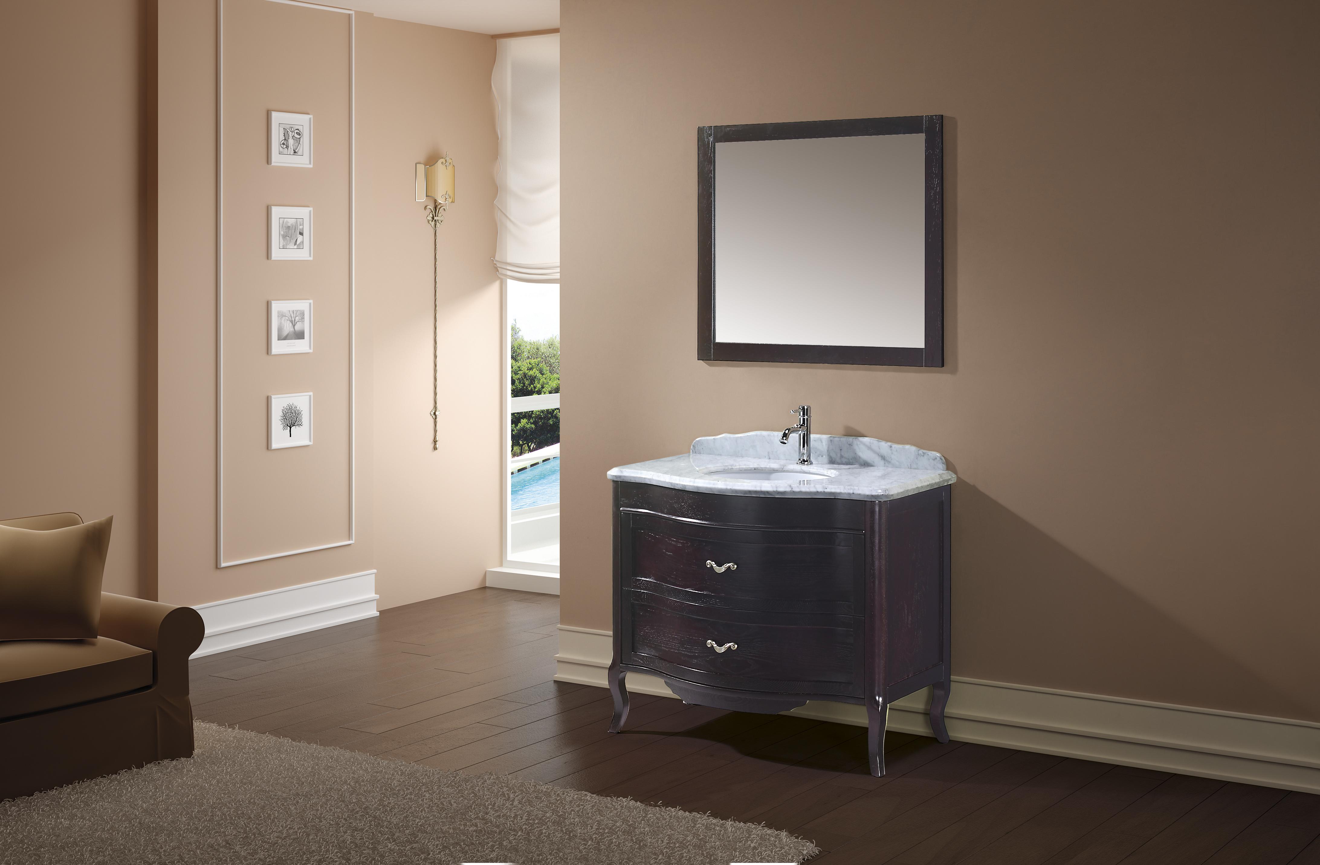 Meuble de salle de bain en bois noble meubles et for Cedeo meuble salle de bain