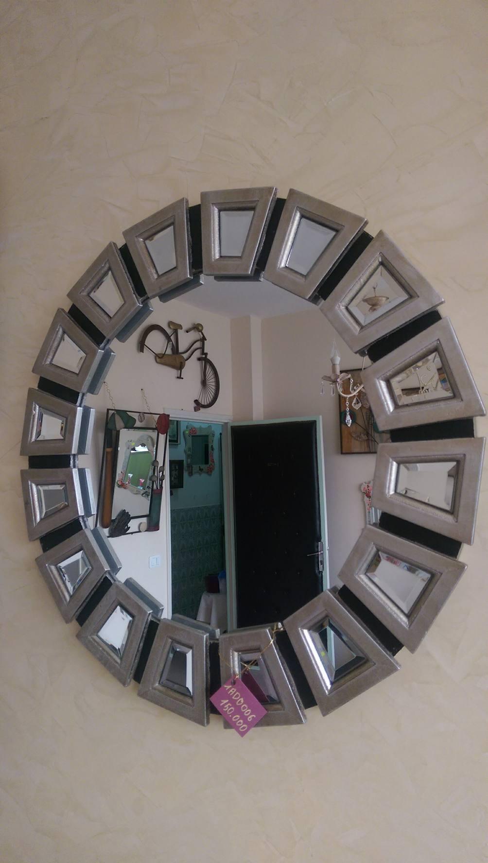 Miroir murale meubles et d coration tunisie for Decoration murale miroir