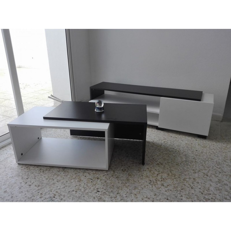 Pack living room meuble tv canap lit table basse meubles et d coration tunisie for Meuble canape