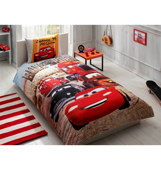 parure de lit disney cars friend meubles et d coration. Black Bedroom Furniture Sets. Home Design Ideas