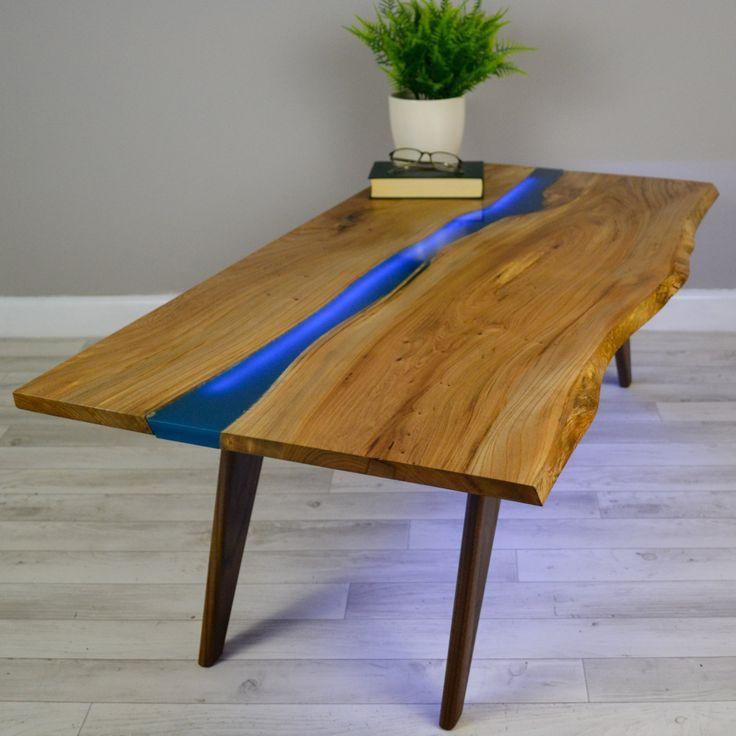 table rivi re en bois massif meubles et d coration tunisie. Black Bedroom Furniture Sets. Home Design Ideas