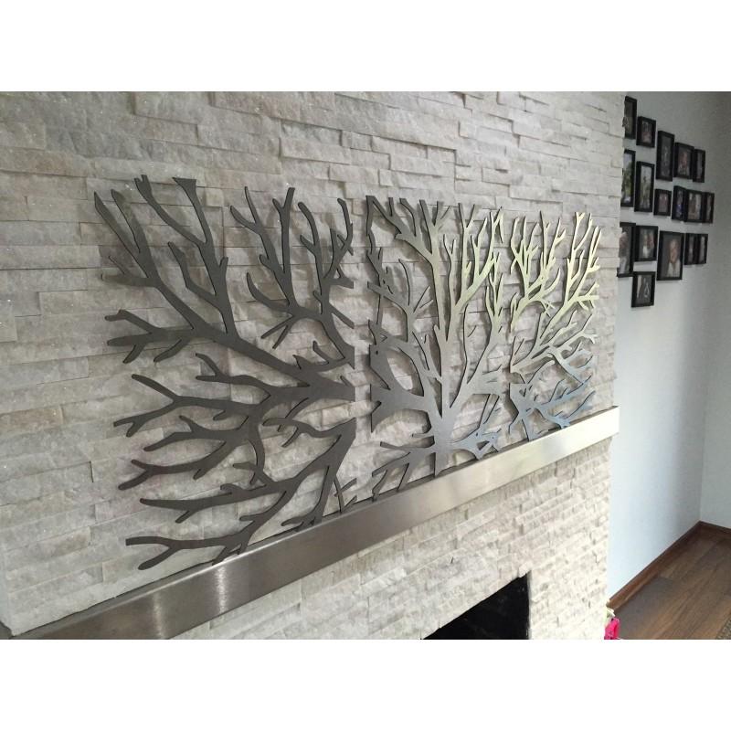 tableau branche d 39 arbre 3 pi ces meubles et d coration tunisie. Black Bedroom Furniture Sets. Home Design Ideas